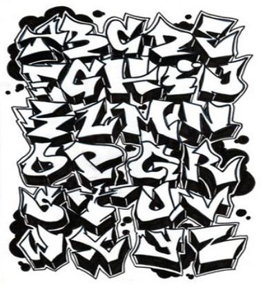 Шрифты Граффити Архив